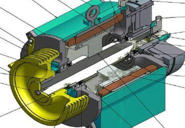 ترمز الکترومکانیکی موتورهای گیرلس