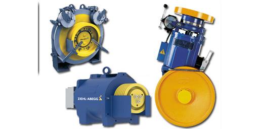 موتورهای گیرلس مورد استفاده در صنعت آسانسور