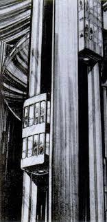 نخستین آسانسور شیشه ای