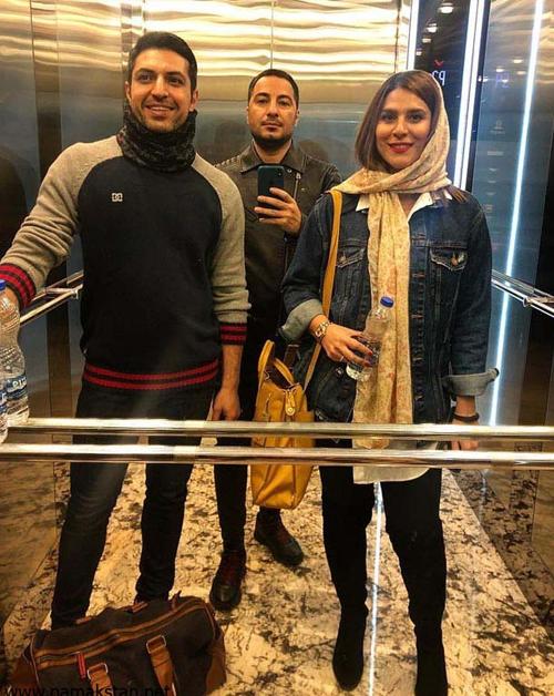 سلفی داخل آسانسور