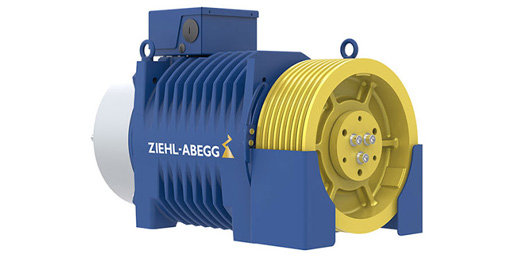 عیبیابی موتور گیرلس ZIEHL-ABEGG